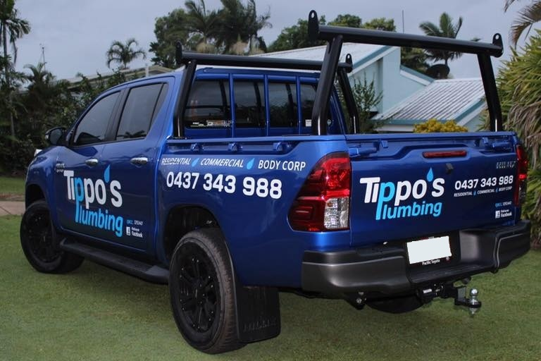 Tippo's business vehicle