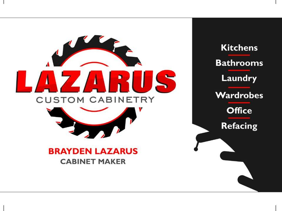 Link to Lazarus Custom Cabinetry on Facebook